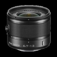 1 NIKKOR VR 6.7-13mm f:3.5-5.6 Black